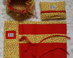 Kit de Organizadores de tecidos