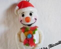 Boneco de Neve Chaveirinho de Natal