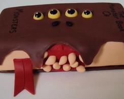 Livro Monstro- Harry Potter em biscuit
