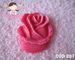 C�d 287 Molde de bot�o de rosa