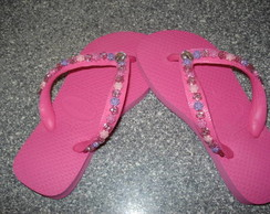 Chinelo Havaiana Pink Infantil