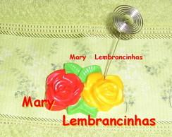 50 LEMBRANCINHAS ROSAS COM ESPIRAL MESA
