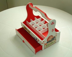 caixa de esmalte