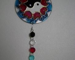 Mini Mandala Yin Yang Cora��o MP-97
