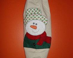 Puxa saco boneco de neve