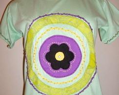Mandala com Flor 2 - Verde Claro