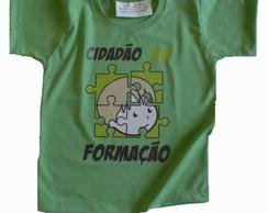 Camiseta Infantil malha PET Cidad�o VD