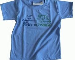 Camiseta Infantil malha PET Futuro AZ