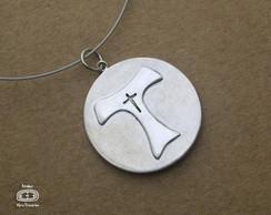 vlt 134 - Pingente Tau e Eucaristia