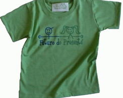 Camiseta Infantil malha PET Futuro VD