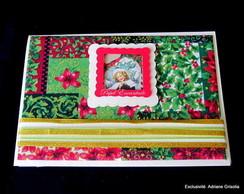 """Cart�o Natal """"Flores do Natal"""""""
