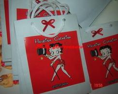 Sacolinhas personalizadas Betty Boop