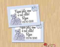 Cart�o de lembrancinha nascimento