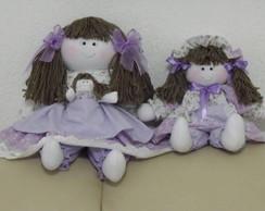 Boneca Beatriz e Livia