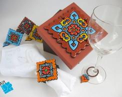 conjunto de mesa biscuit