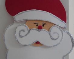 Enfeite para porta Papai Noel