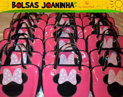 MINNIE BOLSA PINK AL�AS PRETAS