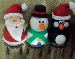 Tubetes para mensagens natalinas