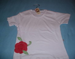 camiseta customizada Patchcolagem