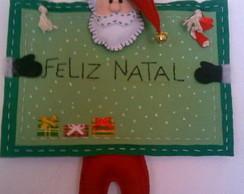 Papai Noel de parede