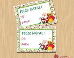 Cart�o lembrancinha Natal