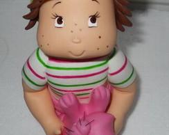 Moranguinho baby topo de bolo