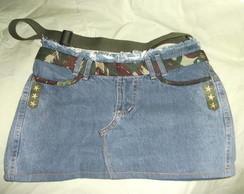 Bolsa  Jeans Camuflada