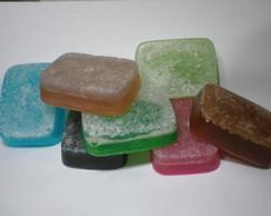 Sabonete energ�tico com sal grosso
