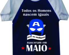 63ba53f66e ... Camiseta Personalizada mêsversario maio - NG Mega Store