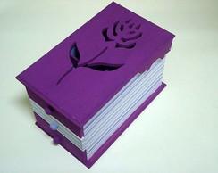 Caixa porta-j�ias Purple