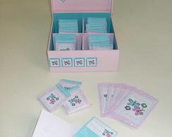 Caixa Decorada P + 50 sach�s