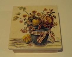 Caixa Frutas e Flores