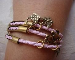 pulseira rosa beb�