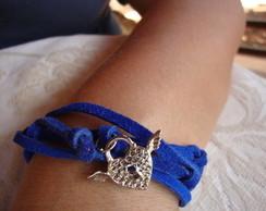 pulseira azul royal