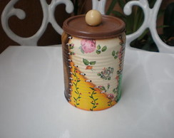 lata decorada (ENCOMENDA)
