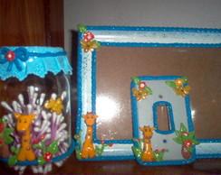 kit infantil girafinha