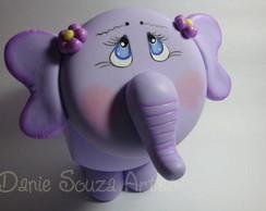 Elefante pote de biscuit