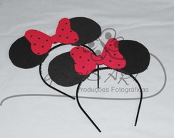 Arco de Cabelo da Minnie e Mickey