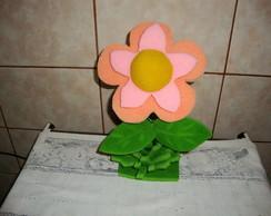 Enfeite de mesa flor