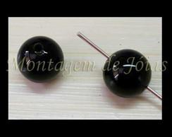 AGAT-02 - �gata Preta esfera 8mm (2un)