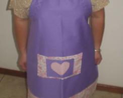 avental lil�s com  rosa VENDIDO