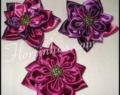 Broche 3 Flores