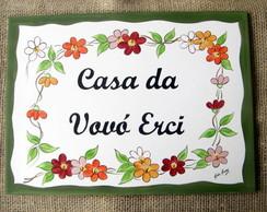 Placa Vov� Erci