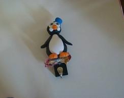 Suporte para Pano de Prato de Pinguim