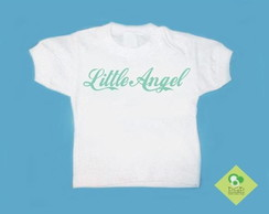T-Shirt Beb� e Infantil LITTLE ANGEL