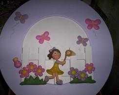 porta maternidade cacadora de borboletas