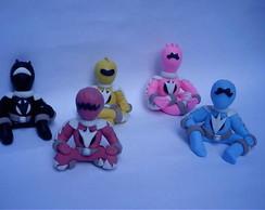 Topo de Bolo Power Rangers