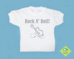 T-Shirt Beb� e Infantil ROCK N ROLL!