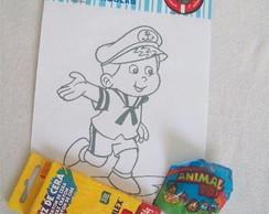 Kit de pintura - Marinheiro