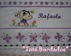 Toalha de Banho Lilica Branco/Lil�s
